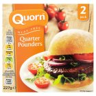 Quorn 2 quarter pounders - 227g Brand Price Match - Checked Tesco.com 02/09/2015