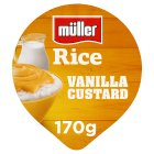 Muller Rice - Vanilla Custard - 180g Brand Price Match - Checked Tesco.com 18/08/2014