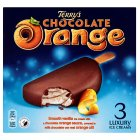 Terry's chocolate orange 3 luxury ice creams - 3x90ml Introductory Offer