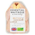 essential Waitrose British Chicken Large - 1.75kg