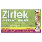 Zirtek allergy relief 1 a day tablets - 7s Brand Price Match - Checked Tesco.com 23/04/2014