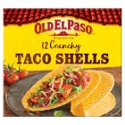 Old El Paso 12 crunchy taco shells - 156g Brand Price Match - Checked Tesco.com 28/07/2014