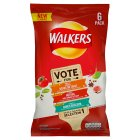 Walkers do us a flavour selection 1 - 6x25g Introductory Offer