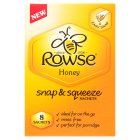 Rowse Honey Snap & Squeeze Sachets - 8x15g