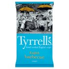 Tyrrells english summer barbecue crisps - 150g
