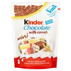 Kinder chocolate mini with cereals - 95g