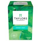 Taylors of Harrogate green tea & sweet mint 20 tea bags - 30g