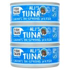 Fish Tales Ali's tuna chunks in spring water - drained 3x112g