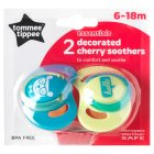 Tommee Tippee cherry soother - 6-18months