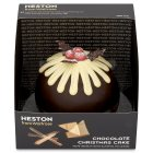 Heston from Waitrose chocolate Christmas cake