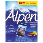 Alpen no added sugar muesli sachets - 7x41g