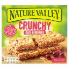 Nature Valley Crunchy oats & berries - 5x42g Brand Price Match - Checked Tesco.com 14/04/2014
