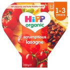 Hipp organic growing up meal scrumptious lasagne