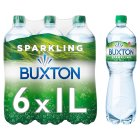 Buxton sparkling mineral water - 6x1litre