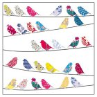 Kirstie Allsopp Birds Card - 1x1each