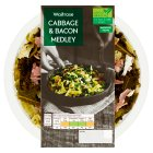 Waitrose Cabbage & Bacon Medley - 225g