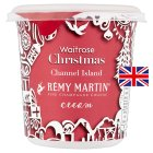 Waitrose Christmas Channel Island Remy Martin cream - 250ml