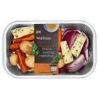 Waitrose British roasting vegetables - 550g
