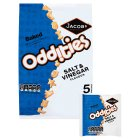 Jacob's oddities salt & vinegar - 5x25g