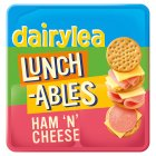 Lunchables ham'n'cheese crackers - 101.9g