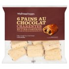 Waitrose frozen 6 pains au chocolat - 360g
