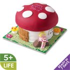 Toadstool House Cake - each
