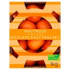 Waitrose seedless easy peeler oranges - 1kg