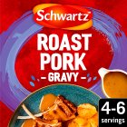 Schwartz roast pork & sage gravy mix - 25g Brand Price Match - Checked Tesco.com 01/09/2014