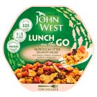 John West salmon Light Lunch Moroccan style - 220g Brand Price Match - Checked Tesco.com 27/08/2014