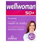 Vitabiotics wellwoman 50+ - 30s Brand Price Match - Checked Tesco.com 30/07/2014