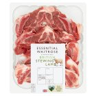 essential Waitrose British lamb stewing - 500g