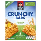 Quaker Crunchy ginger cereal bar - 5x30g