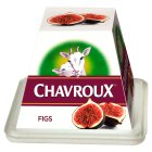 Chavroux Fresh Goat's Cheese with Figs - 150g