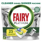 Fairy platinum lemon dishwasher tablets, 30 tablets