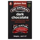 Eat Natural bars cranberries macadamias - 4x33g Brand Price Match - Checked Tesco.com 22/10/2014