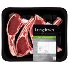 Longdown New Zealand lamb 4 hand cut rack cutlets - per kg