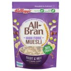 Kellogg's All Bran High Fibre Muesli Fruit & Nut - 550g New Line