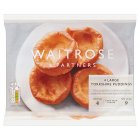 Waitrose frozen 4 large Yorkshire puddings - 180g