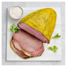 Rare roasted Aberdeen Angus sired beef with a mustard crumb - 2kg