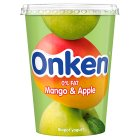 Onken biopot fat free mango & apple yogurt - 450g Brand Price Match - Checked Tesco.com 16/04/2014