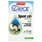Bob Martin FleaClear 50mg spot on for cats over 1kg