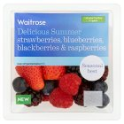 Waitrose summer berries - 160g