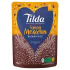 Tilda Steamed Basmati Rice & Chilli & Bean - 250g Brand Price Match - Checked Tesco.com 04/12/2013