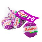 Mini Babybel cheddar variety, 6 portions - 6x20g