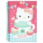 Hello Kitty A5 folksy notebook -