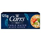 Carr's Table Water Biscuits with black pepper - 125g Brand Price Match - Checked Tesco.com 04/12/2013