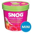Snog frozen yogurt Summer berry berry slam - 140ml Brand Price Match - Checked Tesco.com 22/10/2014