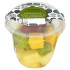 Waitrose Good To Go pineapple kiwi mango & strawberry - 175g