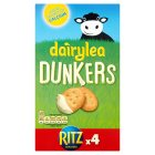 Dairylea Dunkers with Ritz 4 cheese snack packs - 4x46g Brand Price Match - Checked Tesco.com 30/07/2014