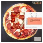 Waitrose 1 wood-fired spicy calabrian salami pizza - 300g
